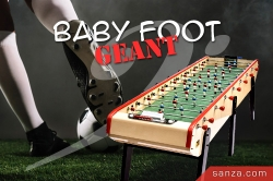 Baby-Foot Géant