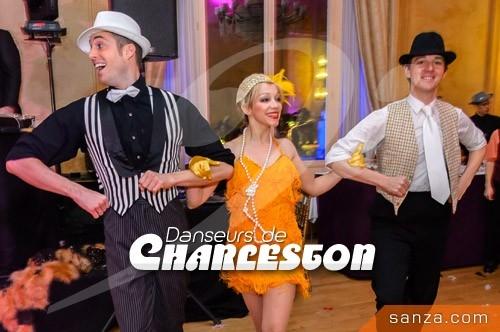 Danseurs de Charleston