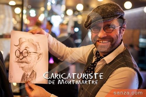 Caricaturiste de Montmartre