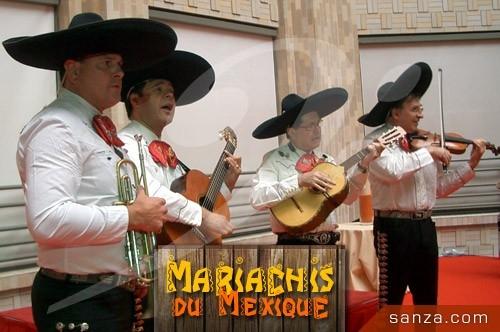 Mariachis du Mexique