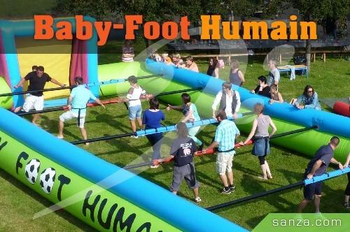 Baby-Foot Humain