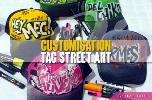Customisation Tag Street Art