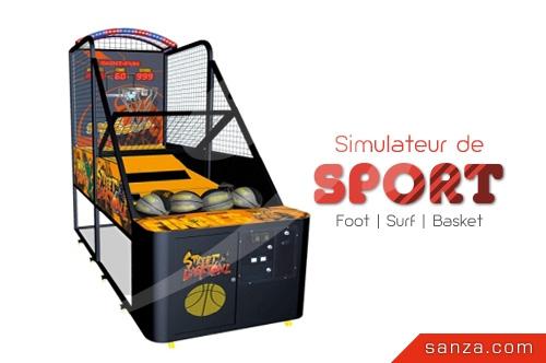 Simulateur de Sport (Foot, Surf, Basket)
