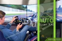 Simulateur Auto - Ecran XXL