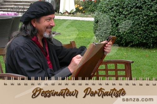 Dessinateur Portraitiste