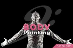 Body-Painting en Direct